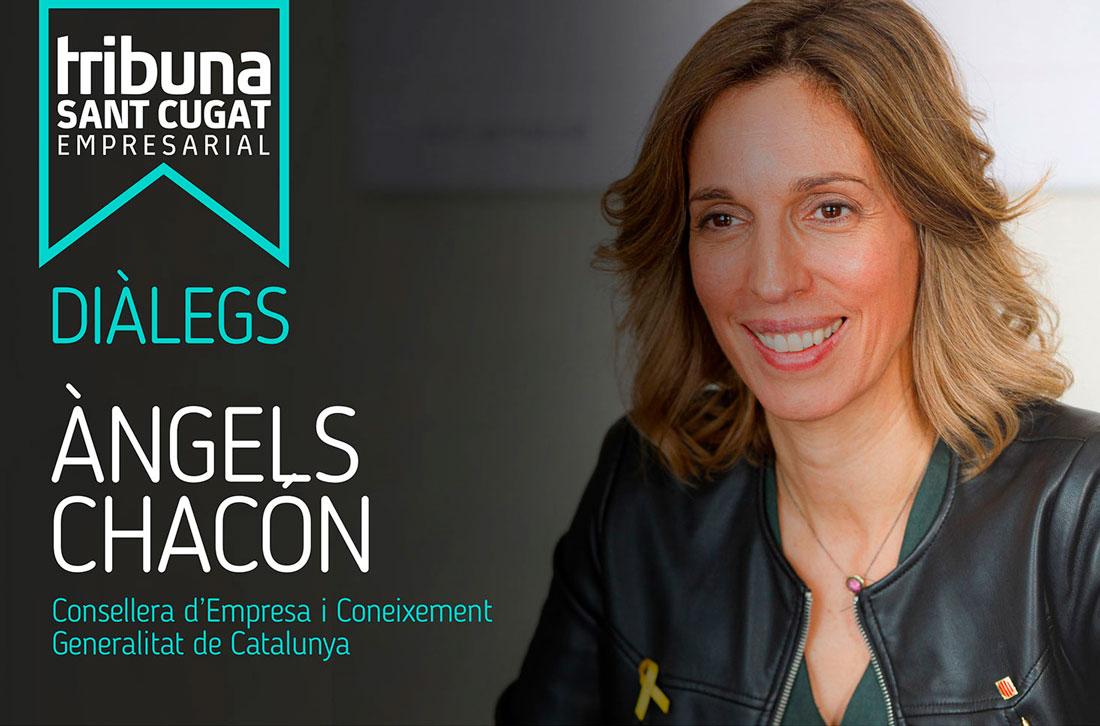 Tribuna Sant Cugat Empresarial Diàlegs - Àngels Chacón