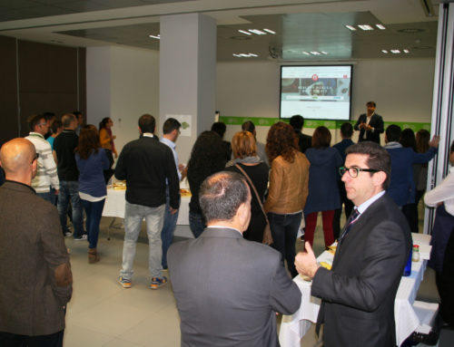 MENU & MENU PROTAGONISTES D'UN NETWORKCAFE A L'@SANT CUGAT BUSINESS PARK