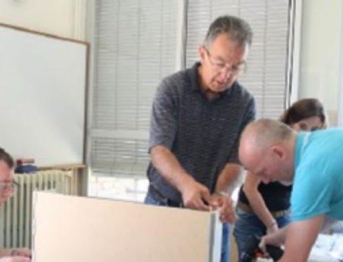 Boehringer Ingelheim dóna material a una escola d'educació especial de Sabadell