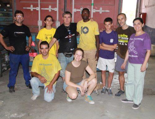 Un contenidor carregat amb 20.000 quilos de somnis i il·lusions viatja cap a Guinea Bissau