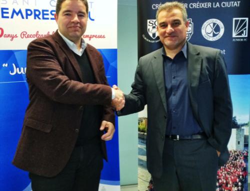 Sant Cugat Empresarial i SantCugatCreix signen un acord de col·laboració