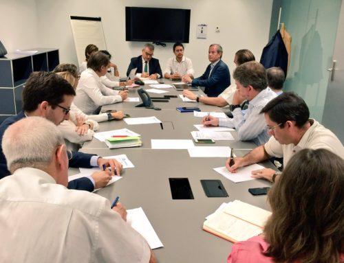 Sant Cugat Empresarial rep la visita de Damià Calvet a la primera Junta Directiva de la temporada