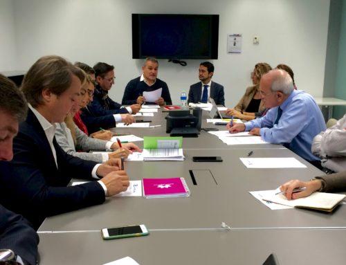 Sant Cugat Empresarial rep la visita de Damià Calvet a una nova sessió de la Junta Directiva