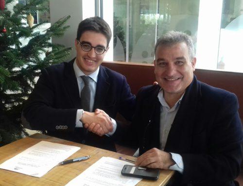 Nou conveni de col·laboració de Sant Cugat Empresarial amb Augusta Pàdel