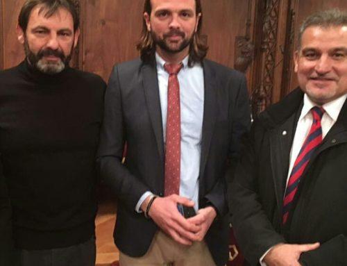 Joan Franquesa, al Lliurament de Medalles de la Fundació Olof Palme