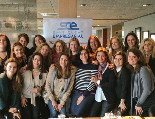 Sant Cugat Empresarial celebra el primer 'Dinar en femení' amb el tema 'Coaching i Empoderament'