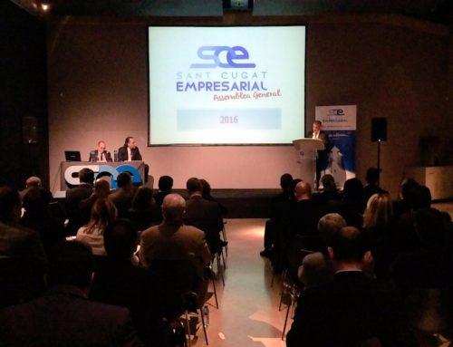 """Sant Cugat Empresarial celebra l'Assemblea General amb el periodista Ramon Rovira i anuncia novetats al """"Sant Cugat Tribuna"""""""