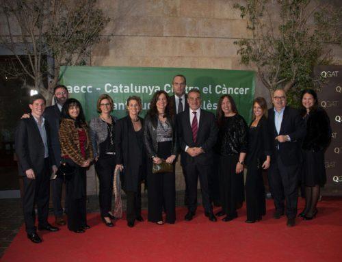 Sant Cugat Empresarial assisteix al 30è sopar de l'Associació Espanyola Contra el Càncer