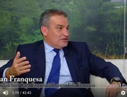 """Sant Cugat, Parada i fonda: """"El món empresarial a Sant Cugat"""""""