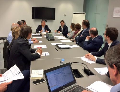 Sant Cugat Empresarial va rebre la visita de Pere Soler i va donar la benvinguda a Jaime Vives a la Junta Directiva