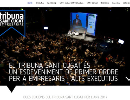 Tribuna Sant Cugat Empresarial estrena nova web