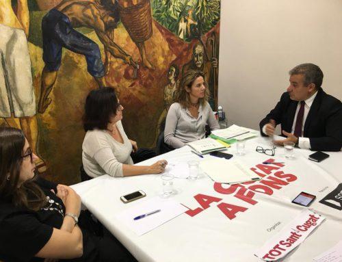 Joan Franquesa present en la taula rodona empresarial del Tot Sant Cugat