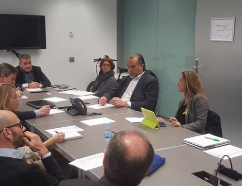 Els preparatius de la nova edició del Tribuna Sant Cugat Empresarial, eix principal de la primera reunió de l'any de la Junta Directiva