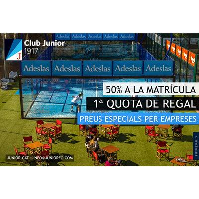 Club Junior avantatge