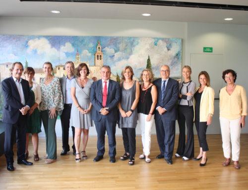 La nova Junta Directiva de Sant Cugat Empresarial presenta les línies estratègiques d'aquest mandat a l'Ajuntament de Sant Cugat