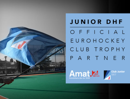 Amat Immobiliaris, Official Eurohockey Club Trophy Partner de l'Equip Femení de l'hoquei herba del Club Junior.