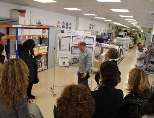 Sant Cugat Empresarial visita les instal·lacions de Roche Diagnòstics en una Jornada de Portes Obertes