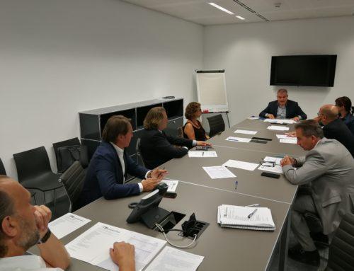 Trobades institucionals al més alt nivell i problemes de mobilitat, marquen la primera Junta Directiva de la temporada