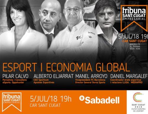 La tercera edició del Tribuna Sant Cugat Empresarial analitzarà l'impacte de l'esport en l'economia mundial