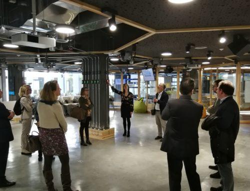Sant Cugat Empresarial visita la Rambla de la Innovació, en una nova Jornada de Portes Obertes