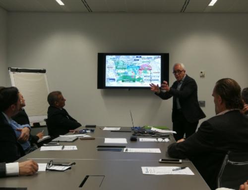 Sant Cugat Empresarial rep la visita de Pere Solà, a la primera Junta Directiva de l'any