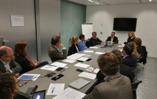 Sant Cugat Empresarial rep la visita del regidor d'economia Carles Brugarolas