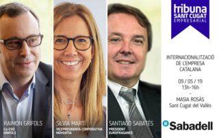 Tribuna Sant Cugat Empresarial 'Internacionalització de l'empresa'