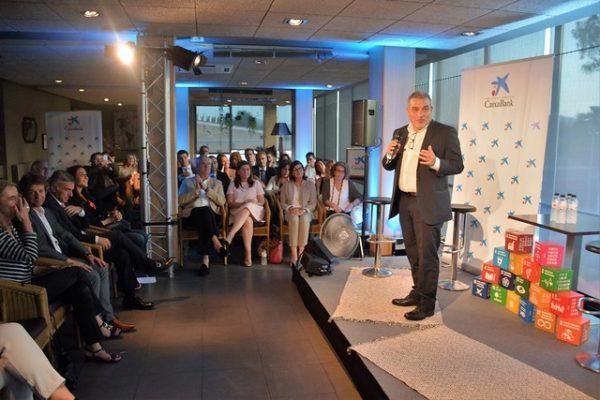El president de SCE Joan Franquesa, al Converses 2019
