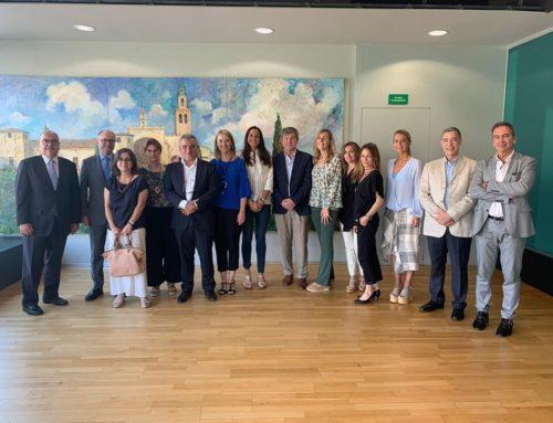 Sant Cugat Empresarial es reuneix amb la nova alcaldessa, Mireia Ingla