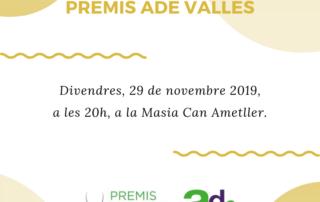 2º edició Premis ADE Vallès