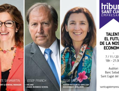 Sant Cugat Empresarial ultima els darrers detalls de la nova edició del Tribuna Sant Cugat Empresarial