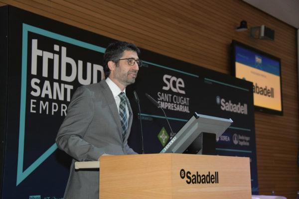 Jordi Puigneró Tribuna Sant Cugat