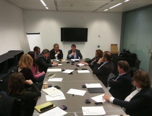 Sant Cugat Empresarial debat sobre el nou tribut metropolità en la darrera junta directiva de l'any
