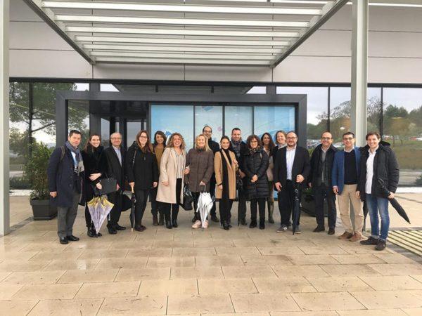Sant Cugat Empresarial visita el Centre d'Excel·lència d'Impressió 3D d'HP, en una Jornada de Portes Obertes