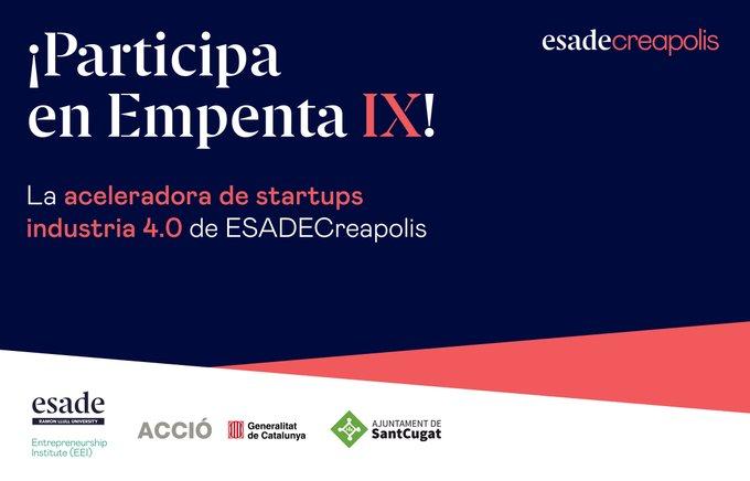 programa d'acceleració de startups Empenta