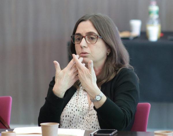 Eva Blanco Matinal d'Innovació del Hub b30