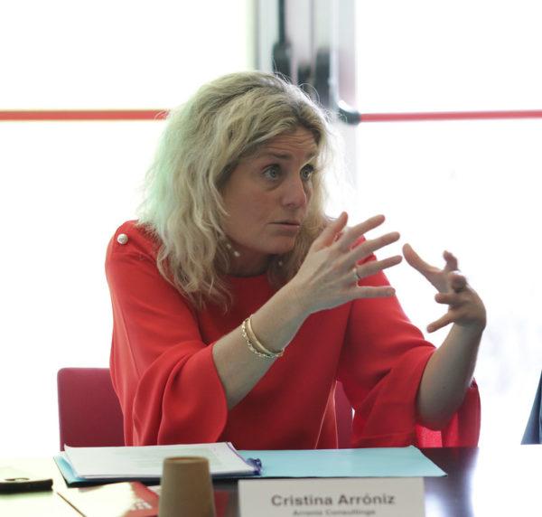 Cristina Arroniz Matinal d'Innovació del Hub b30