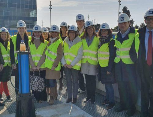 Sant Cugat Empresarial visita l'ETAP de Sant Joan Despí, en una nova jornada de portes obertes