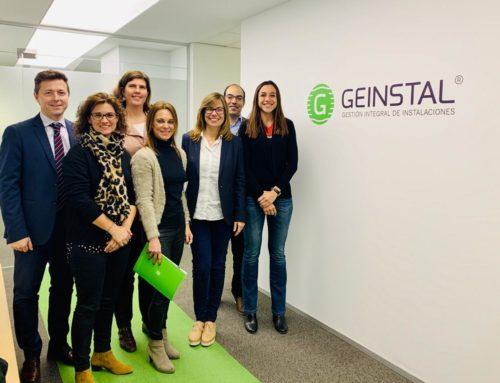 Sant Cugat Empresarial realitza una visita institucional a l'empresa Geinstal
