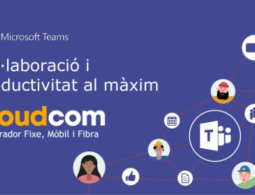 Cloudcom integra els serveis d'operador amb Microsoft Teams
