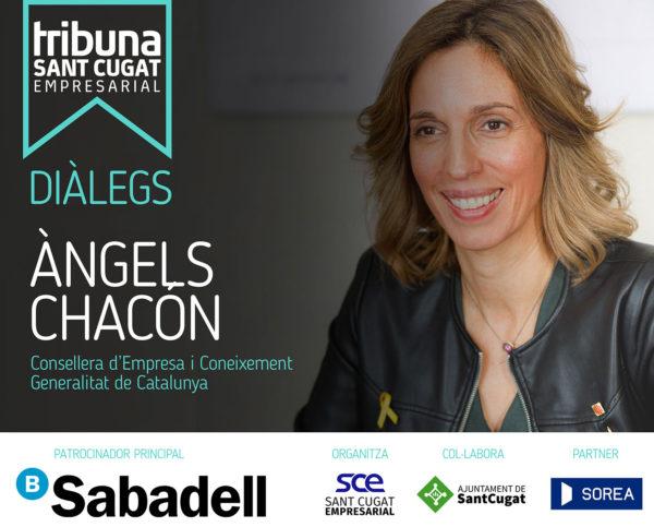 Diàlegs Tribuna SCE amb Àngels Chacón