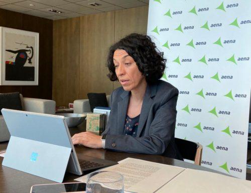 Sonia Corrochano, directora de l'Aeroport de Barcelona, reivindica a Diàlegs – Tribuna Sant Cugat Empresarial, l'aeroport com a motor econòmic del país