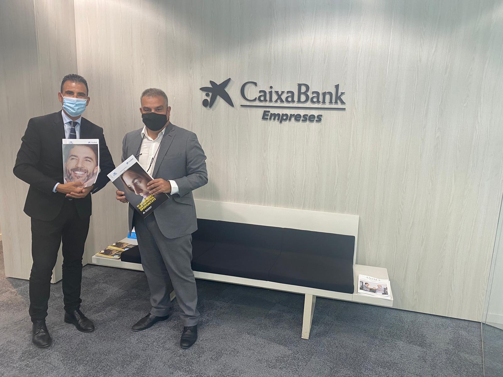CaixaBank i l'associació Sant Cugat Empresarial reafirmen el seu compromís de col·laboració
