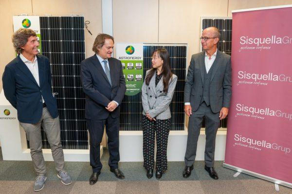 Sisquella Grup signa un acord amb Chint Energy