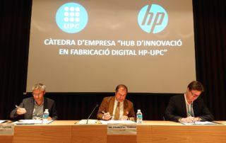 La UPC i HP creen a l'ESEIAAT la càtedra d'empresa 'Hub d'Innovació en Fabricació Digital HP-UPC'