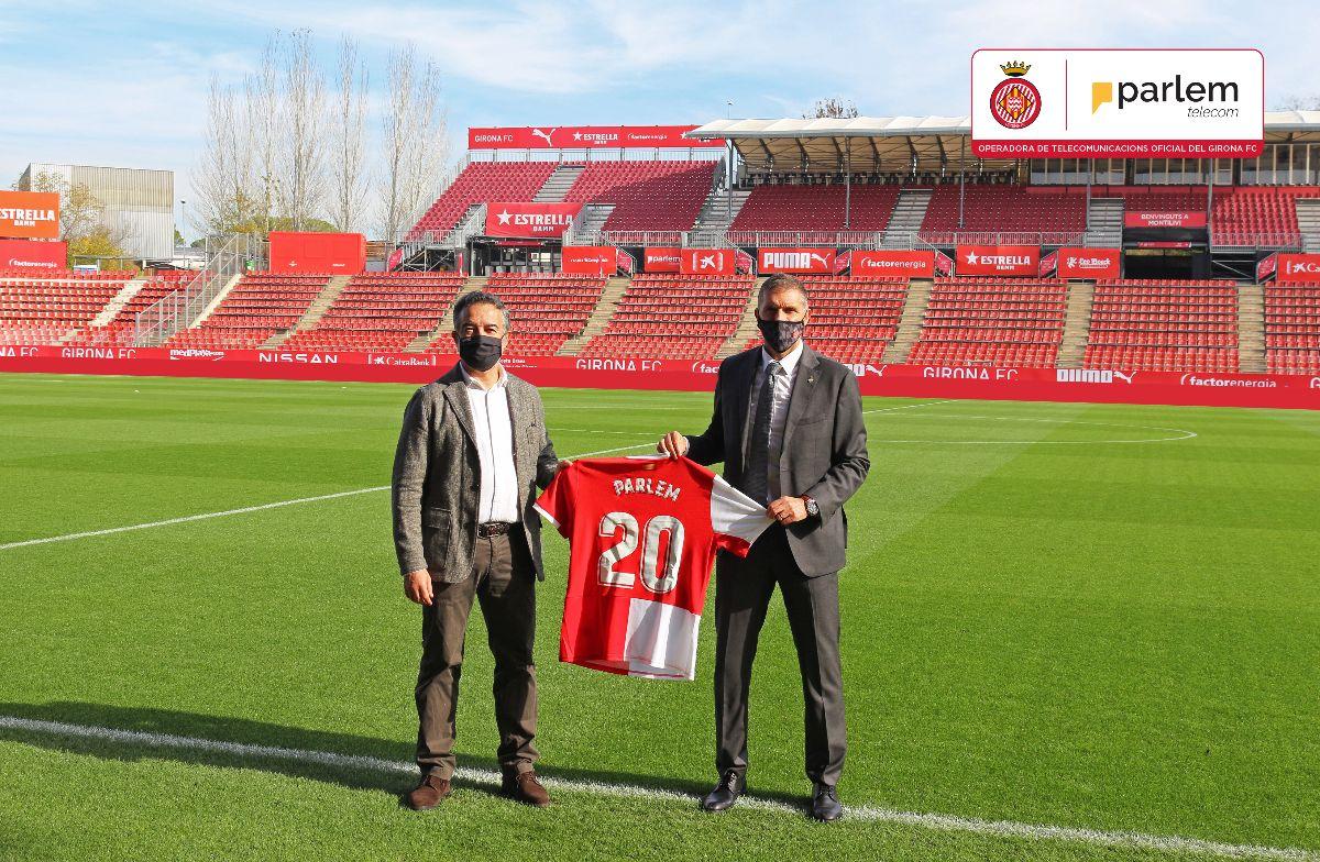 Parlem Telecom esdevé l'operadora de telecomunicacions oficial del Girona FC