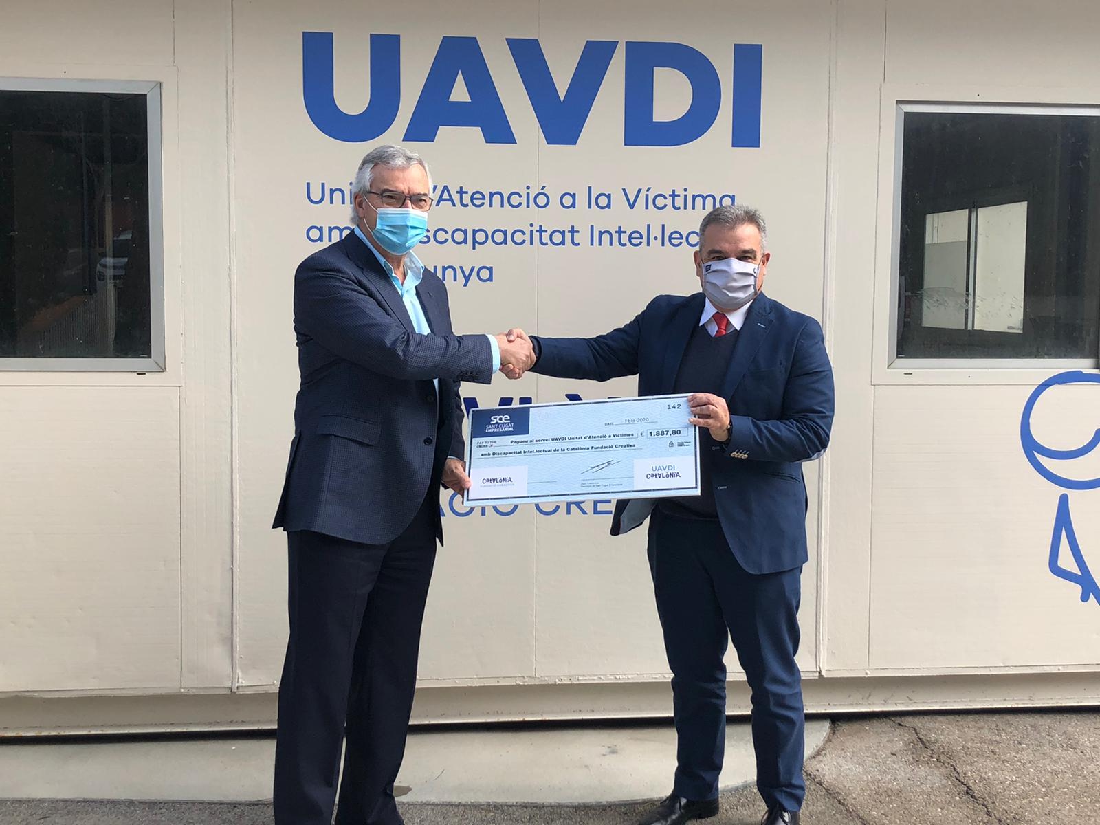 UAVDI Catalònia, és un recurs especialitzat en casos d'abusos i/o maltractaments a persones amb discapacitat intel·lectual, que té com a objectiu reduir el risc de revictimització provocat per les dificultats del sistema policial i judicial de desplegar els suports necessaris a víctimes amb discapacitat intel·lectual. La UAVDI ofereix a les víctimes els serveis de valoració de casos, quan es sospiti que una persona amb DI pot ser víctima d'abús o maltractament, procés d'avaluació de la capacitat prèvia (forense i clínica), assessorament jurídic, i també acompanyament i suport en el procés policial i judicial. La unitat està formada per un grup de professionals especialitzats en Discapacitat Intel·lectual de Catalònia Fundació Creactiva: psicòleg forense, psicòleg sanitari i advocat; i compta amb la col·laboració dels Mossos d'Esquadra, Col·legis d'Advocats, Fiscalia, Policia Nacional i el Departament de Treball, Afers Socials Benestar i Família.