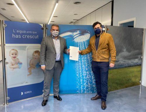 Sorea i Sant Cugat Empresarial reafirmen el seu acord de col·laboració