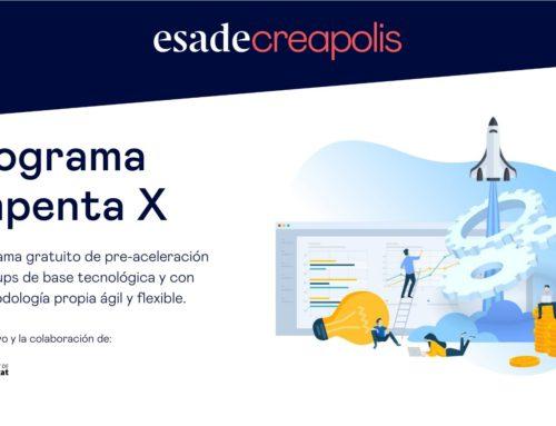 Esade Creapolis llança la 10a Edició del Programa Empenta, el programa d'acceleració d'startups de base tecnològica