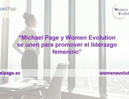 Michael Page i Women Evolution s'uneixen per a promoure el lideratge femení